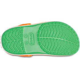 Crocs Crocband - Sandales Enfant - vert/blanc